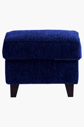 Midnight Blue Fabric Sofa (Sofa Pouf)