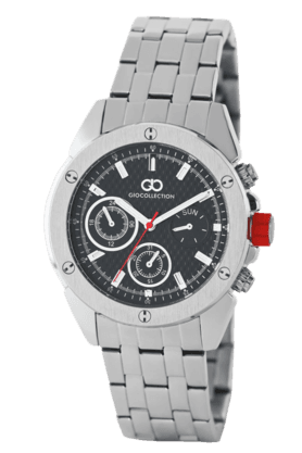 Black Dial Mens Watch - G1001-22