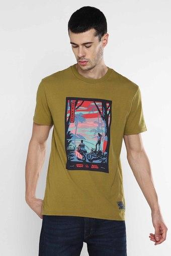 LEVIS -  GreenCasual Shirts - Main