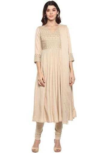 B845 -  Beige Ethnic Sets - Main