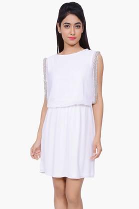 JUNIPERWomen Sleeveless Dressy Kurta - 201932822