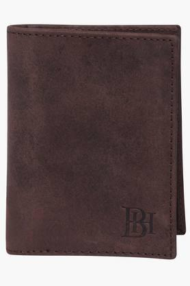 BEING HUMAN Mens 1 Fold Leather Card Holder (Buy 3 Get Lowest At 50% Off)