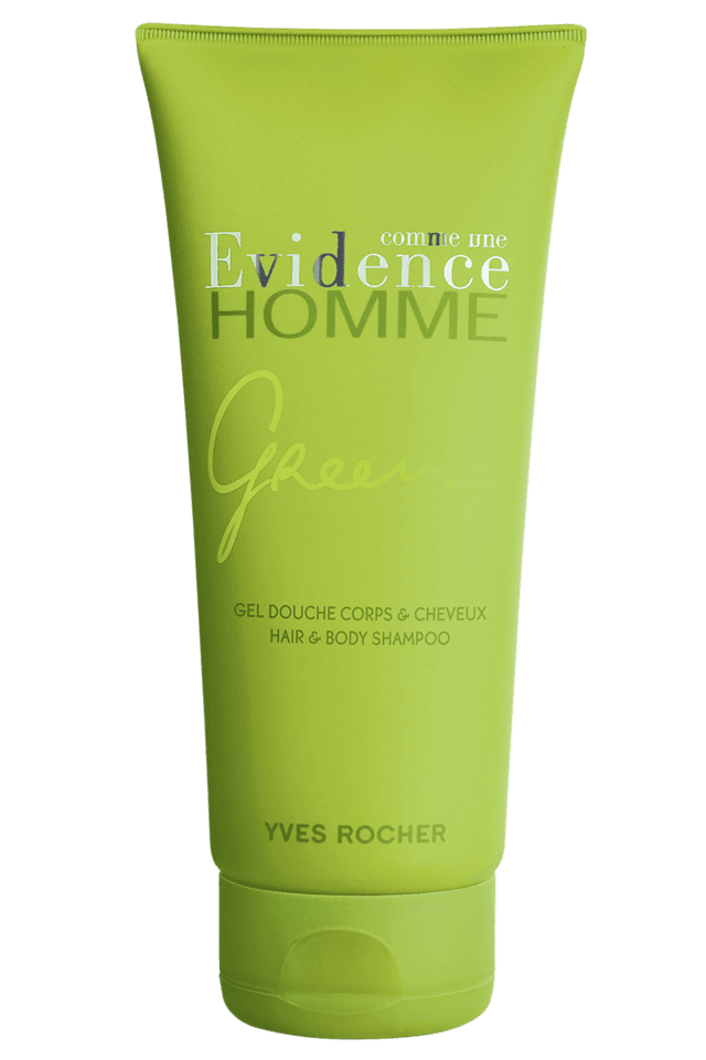 Comme Une Evidence Homme Green Hair Gel & Body Shampoo 200ML