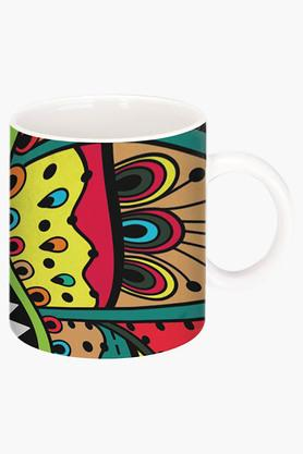 CRUDE AREA Plastic Color Printed Ceramic Coffee Mug  ...