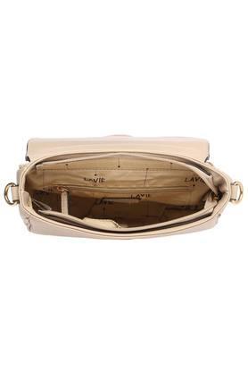 Womens Buckle Closure Satchel Handbag