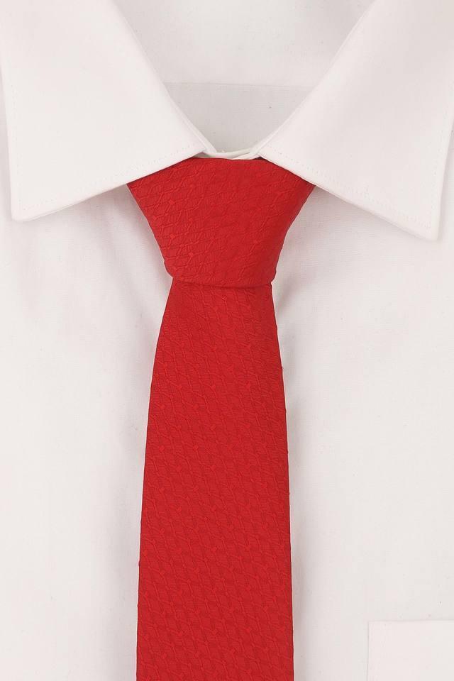 Mens Self Printed Formal Tie