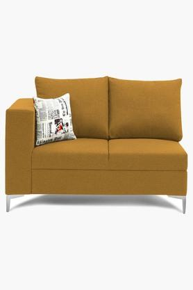 Metallic Gold Water Repellent Fabric Sofa (2 - Seater)