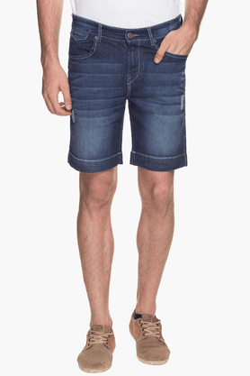 Mens 5 Pocket Stonewash Short