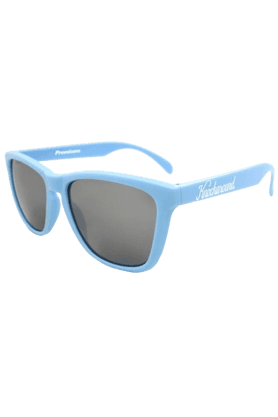 KNOCKAROUND Classic Premium Unisex Sunglasses Carolina Blue/Smoke-PRGL1015 (Use Code FB20 To Get 20% Off On Purchase Of Rs.1800)