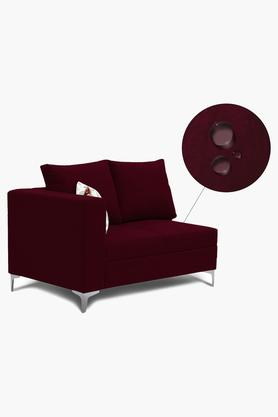 Wine Water Repellent Fabric Sofa (Lounger)
