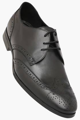 Mens Lace Up Formal Derby Shoes