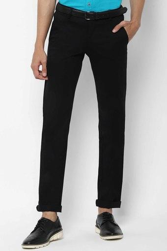 ALLEN SOLLY -  BlackFormal Trousers - Main