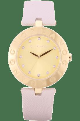 GIORDANOWomens Beige Silicon Strap Analog Watch- 2754-05