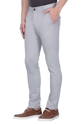 STOP - GreyFormal Trousers - 2