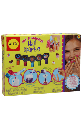 Alex Toys Inflatable Toys - Girls Mix and Make Up Nail Sparkle