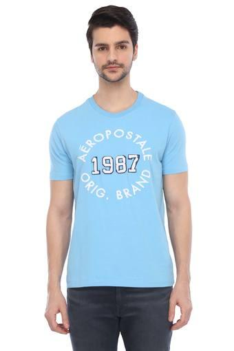 AEROPOSTALE -  Light BlueT-shirts - Main