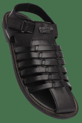 ALBERTO TORRESIMens Velcro Closure Sandal