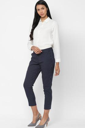 ALLEN SOLLY - NavyTrousers & Pants - 2