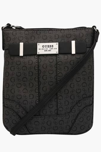 Buy GUESS Womens Zipper Closure Sling Bag   Shoppers Stop fa5968c090