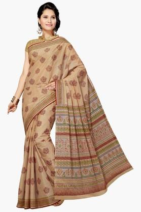 ASHIKA Womens Designer Cotton Printed Saree - 202338353