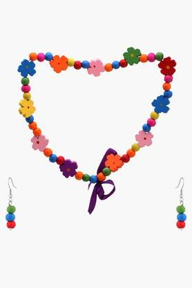 Girls Beads Necklace Bracelet and Earring Set