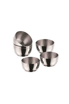 Round Stainless Steel Size Katori Set of 6