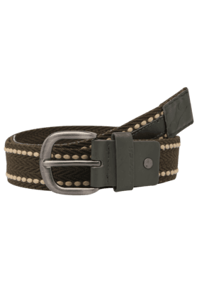 FASTRACK Mens Buckle Closure Casual Web Belt