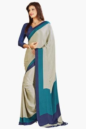 DEMARCA Womens Crepe Silk Saree