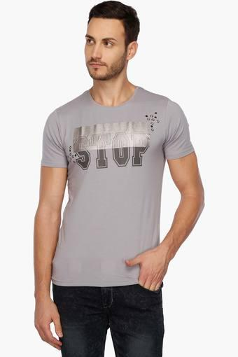REX STRAUT JEANS -  PurpleT-shirts - Main