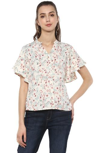 FRATINI WOMAN -  Off White Tops & Tees - Main