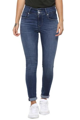 LEVIS -  Mid BlueJeans & Leggings - Main
