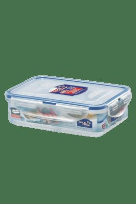 LOCK & LOCKClassics Short Rectangular Food Container With Divider - 550ml