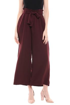 MSTAKEN - BurgundyTrousers & Pants - Main