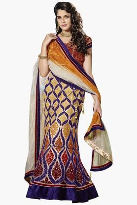MAHOTSAVWomens Embellished Semi-stitched Lehenga Choli - 201643966