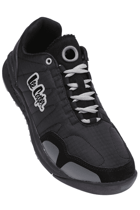 LEE COOPER Mens Black Lace Up Sports Shoe