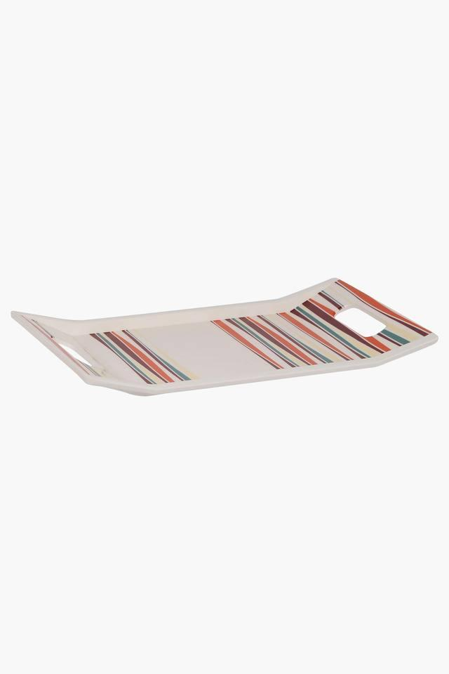 Rectangular Color of Friends Stripe Tray