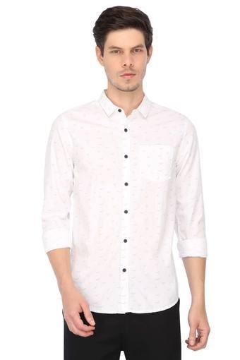 WRANGLER -  WhiteCasual Shirts - Main