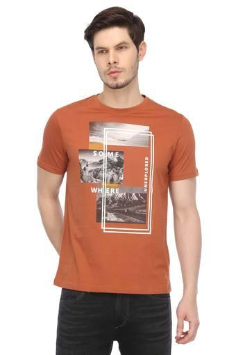 STOP -  Rust T-shirts - Main