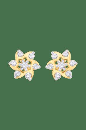 NAKSHATRAWomens 18KT Gold & Diamond Earring - 200960438