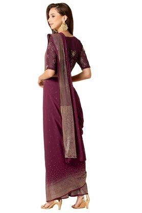 INDYA - Purple Women Ethnic Wear - 1