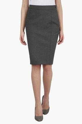 VAN HEUSEN Womens Formal Knee Length Skirt