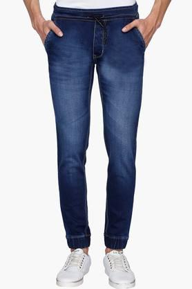 Life Junior O Jeans (Men's) - Mens 4 Pocket Mild Wash Joggers