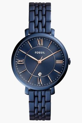 Fossil Womens Analogue Stainless Steel Watch image