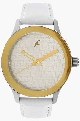 FASTRACK Womens Monochrome White Dial Analogue Watch