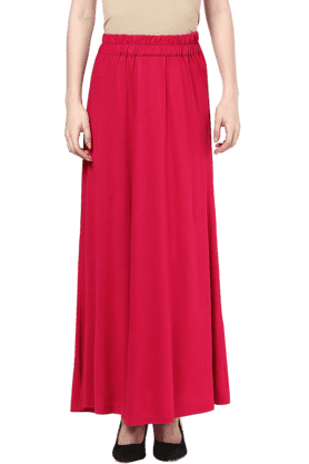 109F Womens Knit Maxi Skirt - 200991747