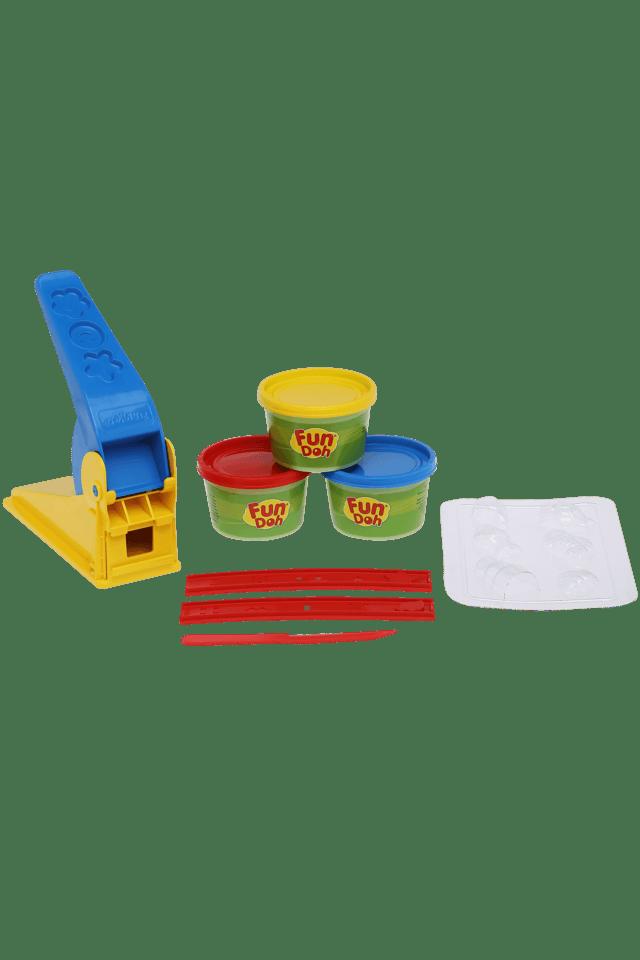 Unisex 3 Colour Tub Playdoh