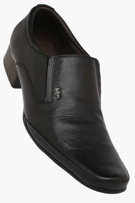 LEE COOPER Mens Leather Slip On Loafers  ... - 200717768