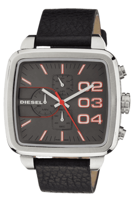 DIESEL Black Casual Wrist Watch For Men- DZ4304I