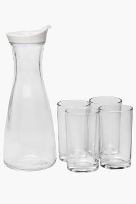 IVYDrinkning Glass Wid Jar (Set Of 5)