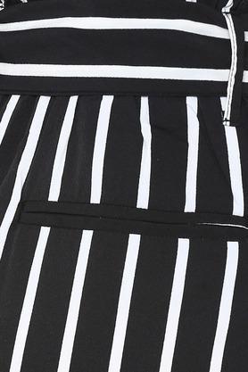 Womens 4 Pocket Striped Culottes